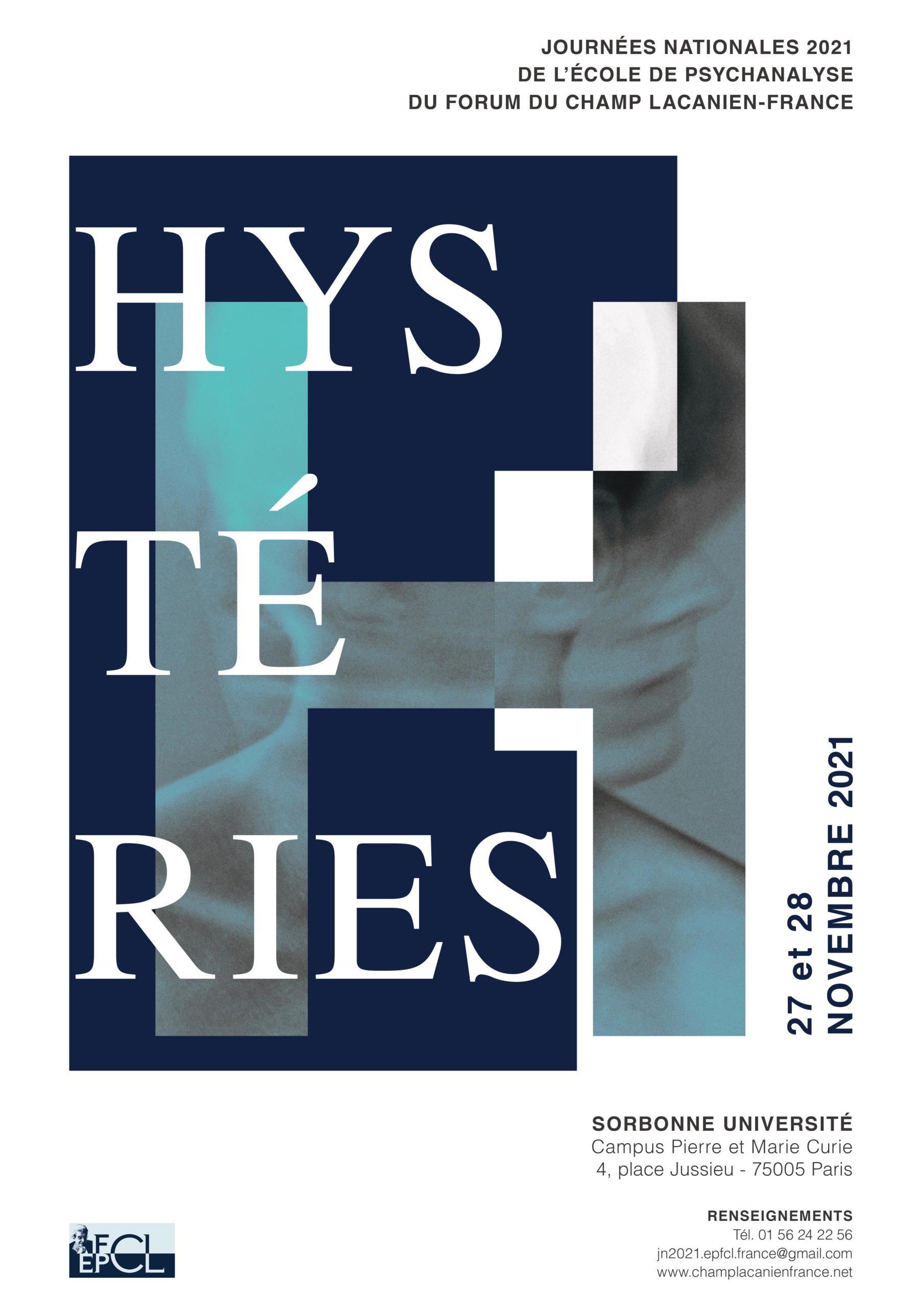 Hystéries - Journées Nationales EPFCL-France